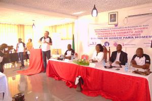 """Seminário Provincial Sobre Prevenção e Combate aos Casamentos Prematuros:Diálogo de """"Homem para Homem"""""""
